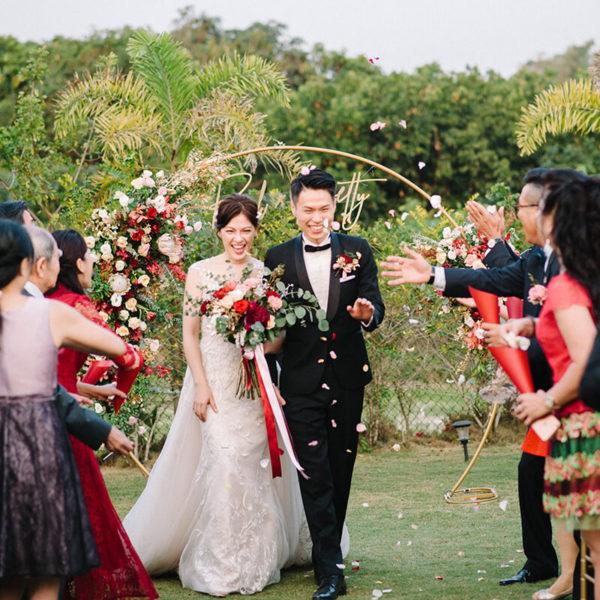 戶外婚禮, 婚禮, 婚顧, 婚禮佈置, 家宴, 證婚