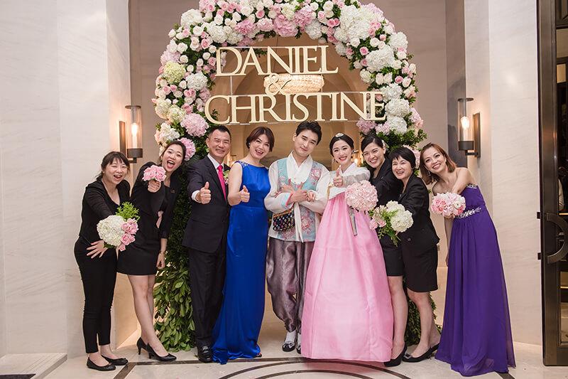 萬豪酒店, 婚禮, 婚顧, 婚禮佈置, 韓國婚禮